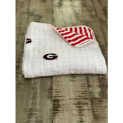 Georgia Four Layer Cotton Baby Blanket