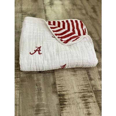 Alabama Four Layer Cotton Baby Blanket
