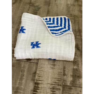 Kentucky Four Layer Cotton Baby Blanket