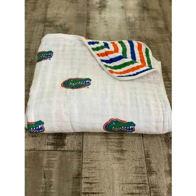 Florida Four Layer Cotton Baby Blanket