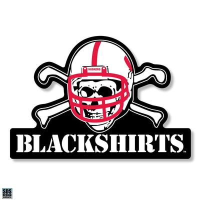 Nebraska 12 in Blackshirts Decal