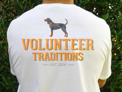 Tennessee Volunteer Traditions Bluetick Simple Pocket Tee