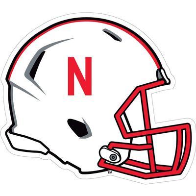Nebraska 6 in Helmet Decal