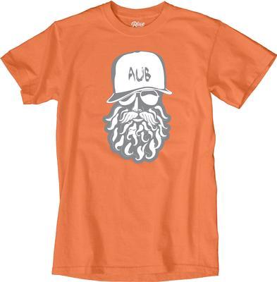 Auburn Blue 84 Beardy Lifestyle Short Sleeve Tee