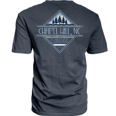 Chapel Hill Blue 84 Diamond Pines Tee