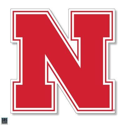 Nebraska 12 in N Logo Decal