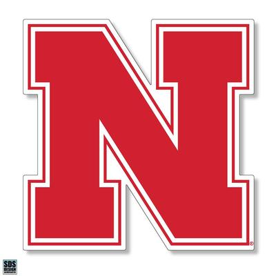 Nebraska 6 in N Logo Decal