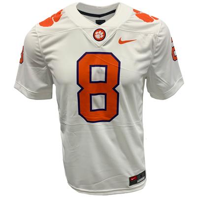 Clemson Nike Game Home #8 Jersey