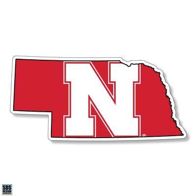 Nebraska 6 inch State Decal