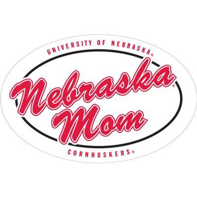 Nebraska 6 inch Nebraska Mom Magnet
