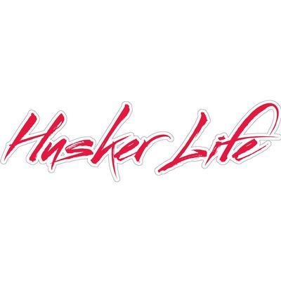 Nebraska 6 inch Husker Life Decal