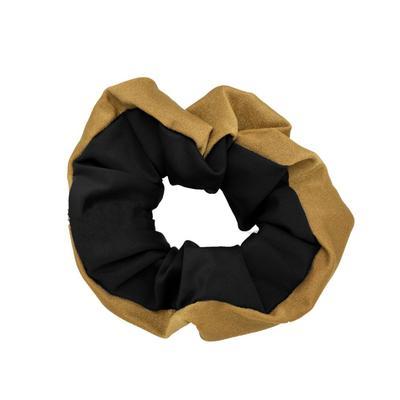 Pomchie Black and Gold Hair Scrunchie