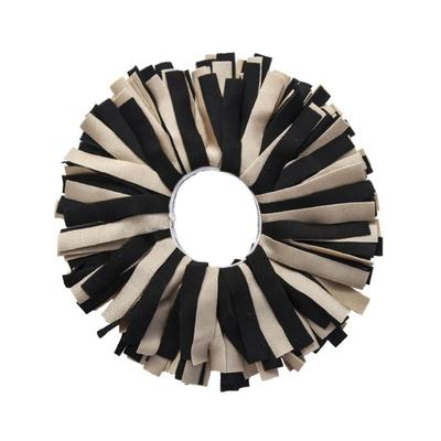 Pomchie Black and Gold Classic Hair Scrunchie