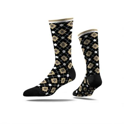 Vanderbilt Strideline Classic Full Sub Argyle Sock