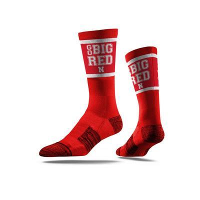 Nebraska Go Big Red Classic Crew Sock