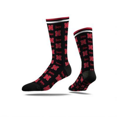 Nebraska Strideline Step Repeat Classic Sub Sock