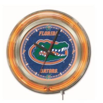 Florida 15 inch Neon Wall Clock