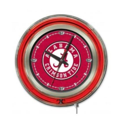 Alabama 15 inch Neon Wall Clock