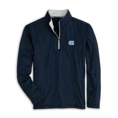 UNC Southern Tide Flanker 1/4 Zip Pullover