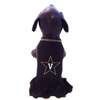 Vanderbilt Pet Cheer Dress