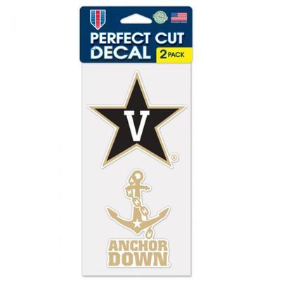Vanderbilt 2-Pack Decal