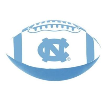 UNC Soft Touch 4 inch Football