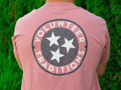 Volunteer Traditions Cities Tri-Star Pocket Tee