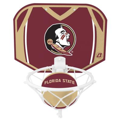 Florida State Basketball Hoop and Soft Touch Ball Set