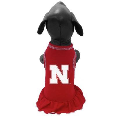 Nebraska Pet Cheer Dress