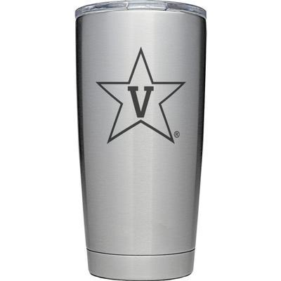 Vanderbilt Yeti Primary Logo 20 oz Rambler