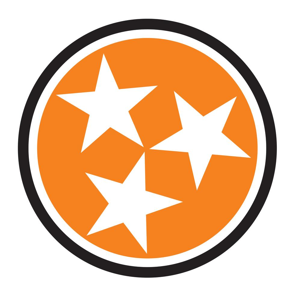 Tennessee Orange Tristar Hitch Cover