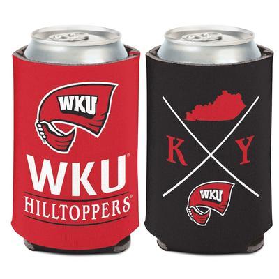 Western Kentucky 12 Oz Can Cooler