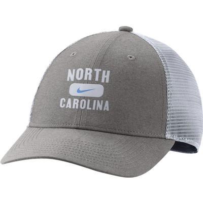 UNC Nike Men's L91 Seasonal Mesh Adjustable Hat