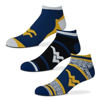 West Virginia Cash 3 Pack Sock