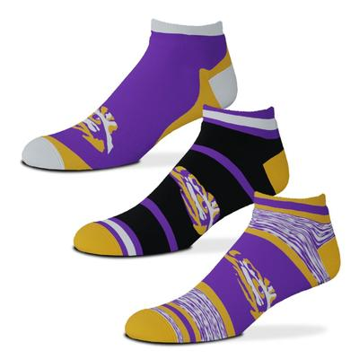 LSU Cash 3 Pack Sock
