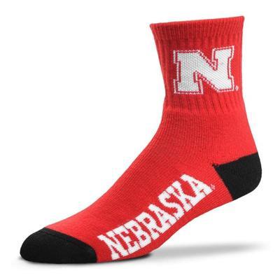 Nebraska Crew Sock
