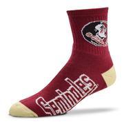 Florida State Crew Sock