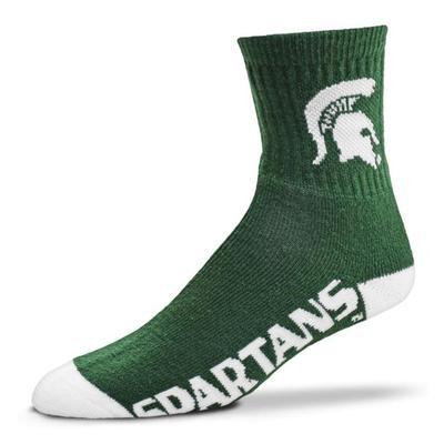 Michigan State Crew Sock