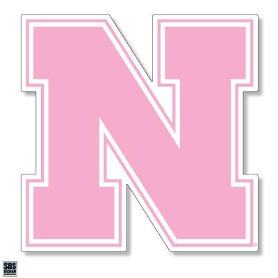 Nebraska 6 in N Logo Magnet