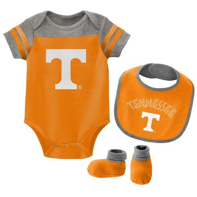 Tennessee Gen2 Infant Tackle Creeper Bib and Bootie Set