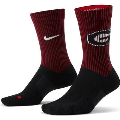 Georgia Nike College Multiplier 2 pack Crew Socks