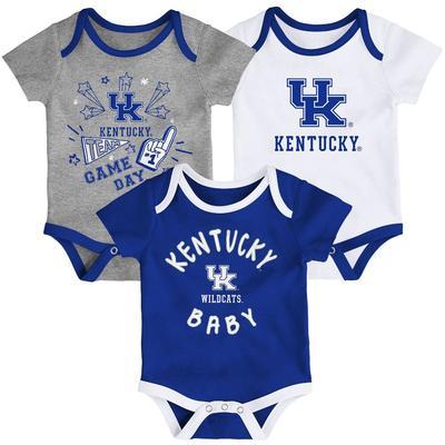 Kentucky Gen2 Infant Champ Creeper 3 Pack Set