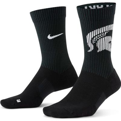 Michigan State Nike College Multiplier 2 pack Crew Socks