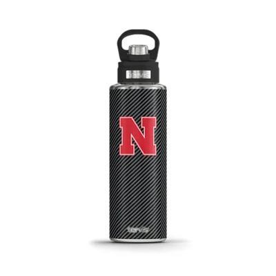 Nebraska Tervis 40 oz Wide Mouth Carbon Fiber Tumbler