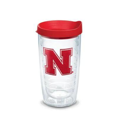 Nebraska Tervis 16 oz N Logo Tumbler