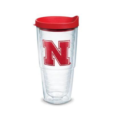 Nebraska Tervis 24 oz N Logo Tumbler