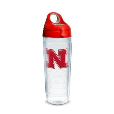 Nebraska Tervis 24 oz N Logo Bottle