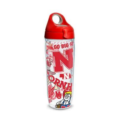 Nebraska Tervis 24 oz All Over Bottle