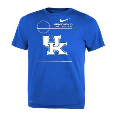 Kentucky Nike TODDLER Legend Dri-Fit Tee