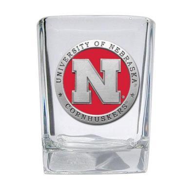 Nebraska Heritage Pewter Shot Glass